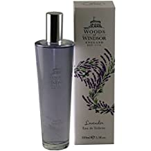 Woods of Windsor Eau De Toilette Spray, Lavender, 3.3 Ounce
