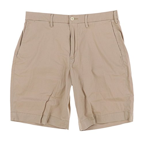 Polo Shorts Chino (Polo Ralph Lauren Mens Stretch Classic Fit Chino Shorts (36, Beige))