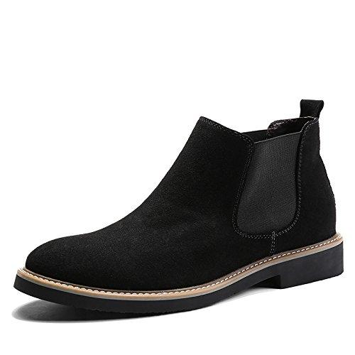 gli uomini sono di moda gli stivali e velvet stivali martin stivali chelsea boots,40,black