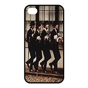 The Beatles Liverpool Rock Band British Invasion Custom Rubber Iphone 4 4s Back Case Cover