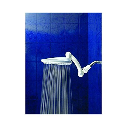 Thunderhead - TH2.5 - High Pressure Rain Shower Head - White - Large