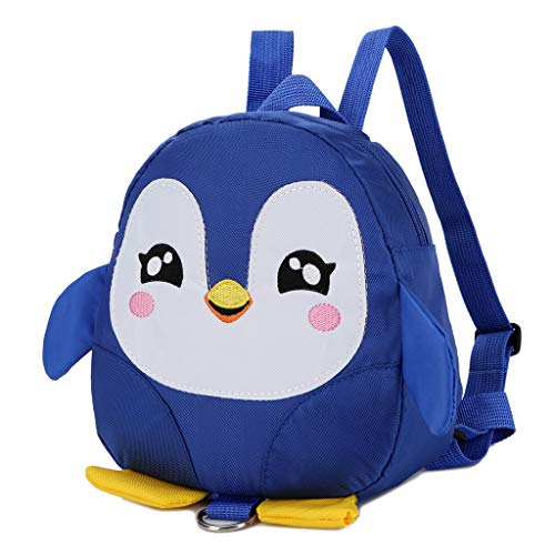 Traction Mochila Lost Cartoon Xuniu Seguridad Anti Negro Rope niños Penguin Arnés para Blue Belt de wzaq4dqf