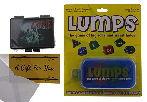 - Lumps (Non Seasonal Edition) & Zombie Farkel Dice Game Bundle with a Gift Card