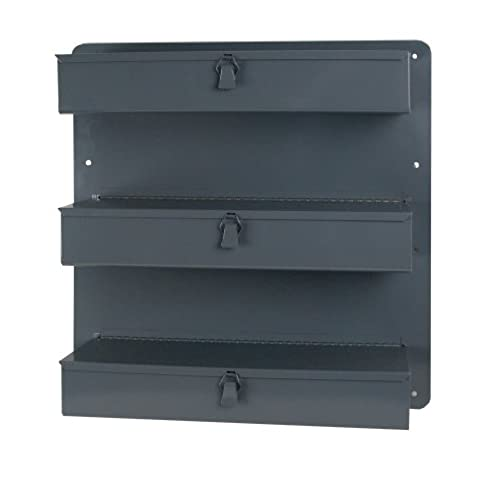 Durham 806-95 Gray Steel 3 Row Door Tray For Trucks and Vans 21  Width x 21  Height x 4-3/4  Depth  sc 1 st  Amazon.com & Van Storage Cabinets: Amazon.com