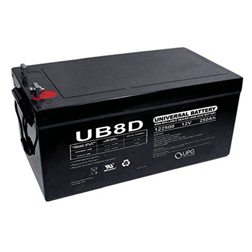 (Universal Power Group UPG 12V 250AH Sealed Lead-Acid Battery )