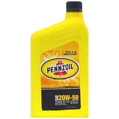 - Pennzoil 5500 01-122050 1 Quart SAE 20W50 Motor Oil