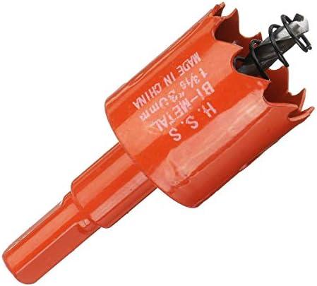 YASE-king 10pcs 16-40mm HSS M42 Bi Metal Hole Saw Tooth Drill Bit for Wood PVC Plastic Drywall Metal