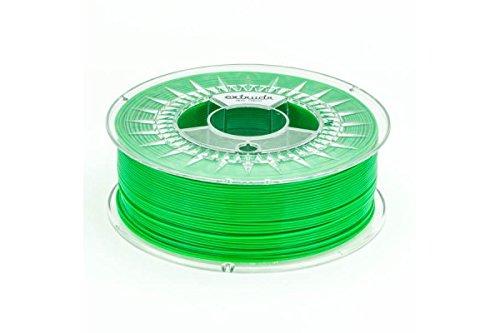 Extrudr® PETG ø1.75mm (1.1kg) NEON GRÜN - 3D Drucker Filament - Made in EU - höchste Qualität zum fairen Preis  B017HHRJDE Filament-3D-Druckmaterialien