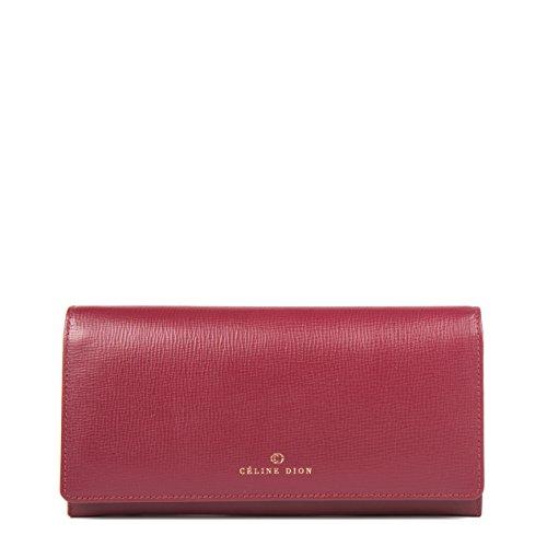 - Céline Dion Cavantina Ladies Wallet (Dark Red)