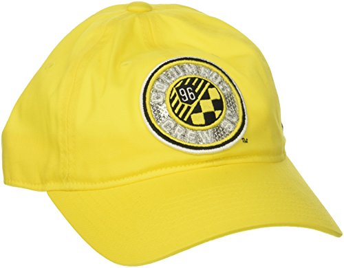 adidas Adult Women's Adjustable Slouch Hat, Yellow, One Size