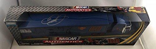 2014 Dale Earnhardt Jr Superman National Guard Signed Auto 1/64 Car Hauler - Autographed Diecast Cars ()