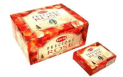 HEM(ヘム) プレシャス ローズ香 コーンタイプ Precious Rose CORN 12箱セット B001TO33FA