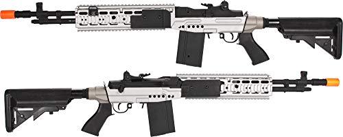 Evike CYMA Full Metal M14 EBR Designated Marksman Rifle Airsoft AEG - Multiple Options Available