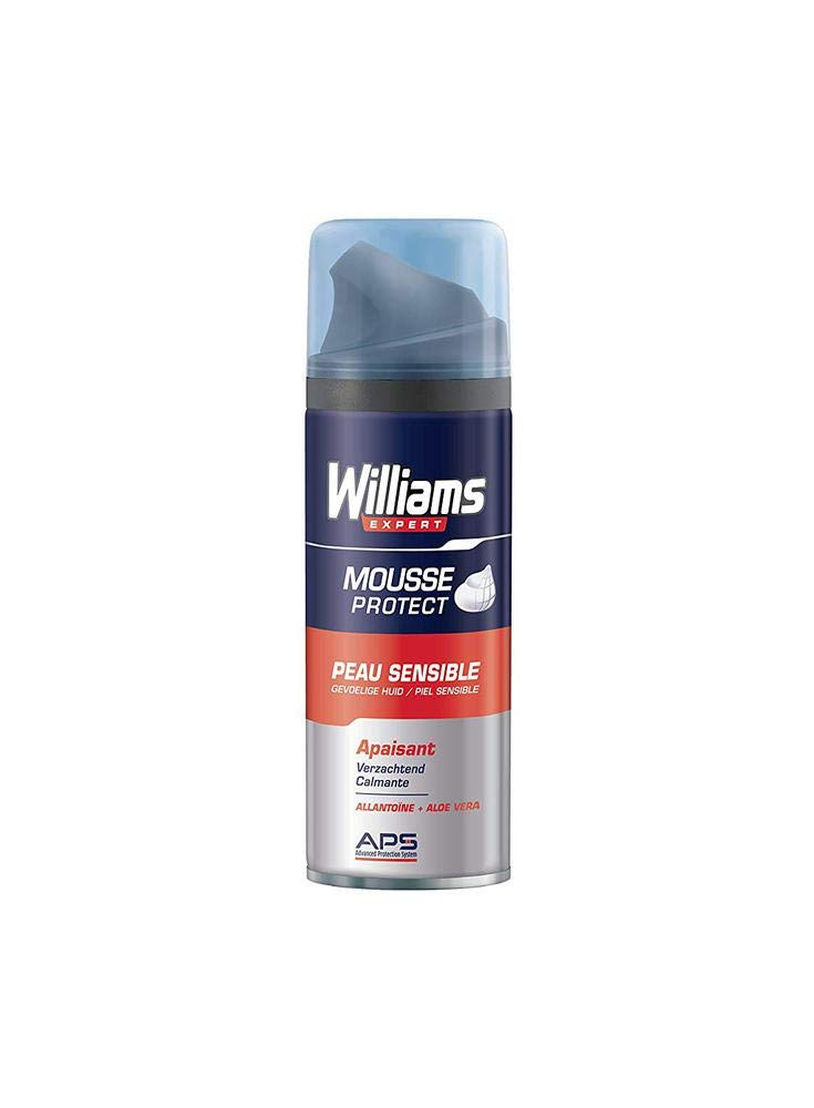 WILLIAMS espuma de afeitar piel sensible spray 200 ml: Amazon.es