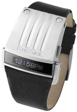 Diesel DZ7079 - Reloj digital de cuarzo para hombre con correa de piel, color negro: Amazon.es: Relojes