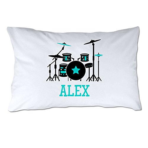 (Personalized Drum Set Pillowcase )