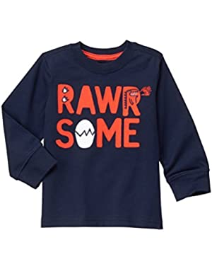 Baby Boys' Rawrsome Graphic Tee