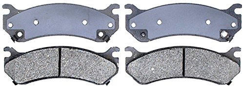 Brake Pads Avalanche - ACDelco 14D785CH Advantage Ceramic Disc Brake Pad Set with Hardware