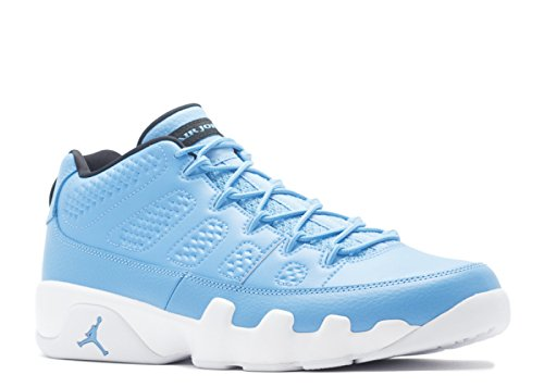 Jordan Air 9 Retro Low Men's Shoes University Blue/White/Black 832822-401 (9.5 D(M) US)
