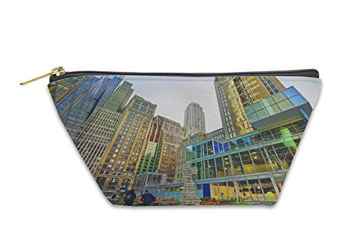 Gear New Accessory Zipper Pouch, Small Public Garden Near 120 West 42nd Street Midtown Manhattan, Large, - Manhattan Ave 6th