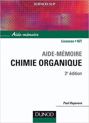 Lire un Aide-mémoire de chimie organique pdf, epub ebook