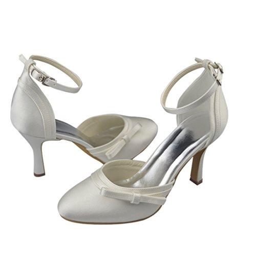 Minitoo , Damen Pumps Ivory-9cm Heel