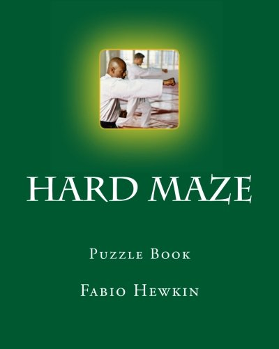 Hard Maze: Creative very Hard difficulty Maze Puzzle Shapes: Puzzle Book