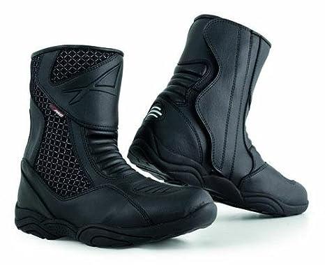 A-Pro Stivaletto Moto Basso Impermeabile Stivali Touring Calzature Turismo Nero 44 5180000067823