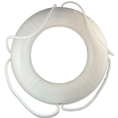 Dock Edge White Life Ring 24