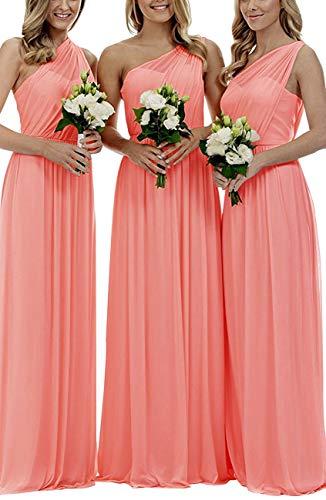 53fdf001f8 Cdress Sweetheart Bridesmaid Chiffon Prom Dresses Long Evening Gown ...