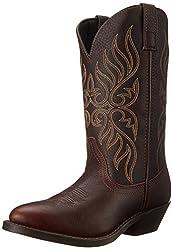 Laredo Women's Kelli Western Boot,Copper,9.5 M US