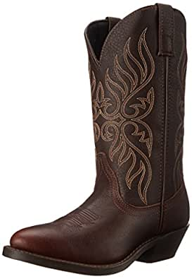 Laredo Women's Kelli Western Boot,Copper,6 W US