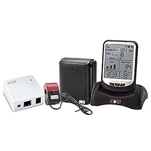 Actual costo EnviR ahorro de energía doméstica inalámbrica monitor W/transmisor