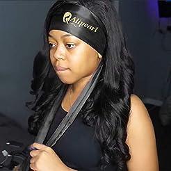 Ali Pearl Edge Wrap for Black Hair-Satin...