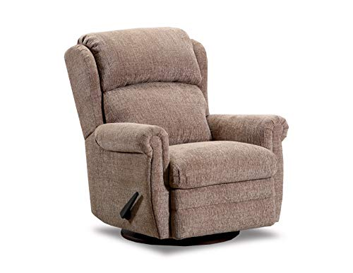 Lane Home Furnishings 4226-16 Kacey Bark SWIVEL/GLIDER REC, Recliner, Tan