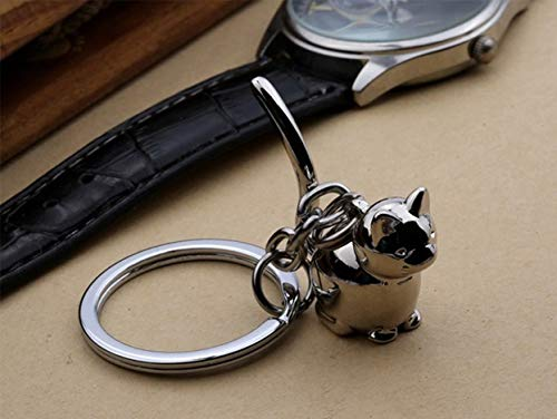 1 Pc 3D Lucky Cat Kitten Keyring Pendant Teen Utility Tool Bottle Opener Key Chain Topnotch Popular Pocket Women Bag Car Keychains Bubble Wrap Key Ring