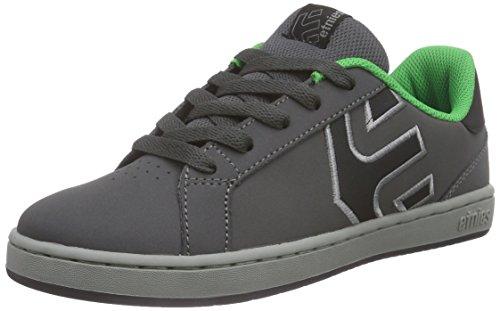 etnies Kids Fader LS - Zapatillas de Skate Unisex Niños Gris - Grau (375 / GREY/GREEN)