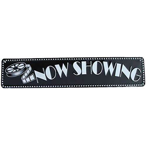 NOW SHOWING movie theatre sign home theater ()