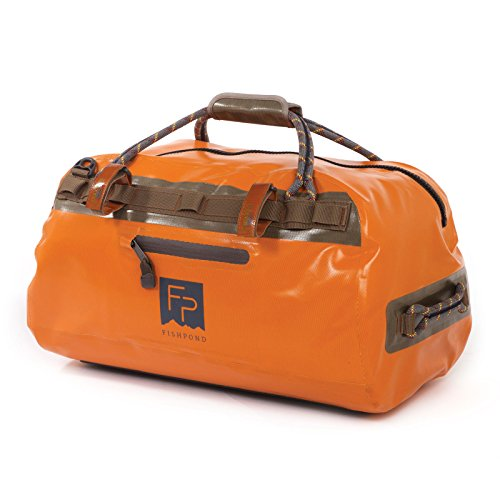 (Fishpond Thunderhead Submersible Duffel, Orange (21 x 12.5 x 11 Inches))