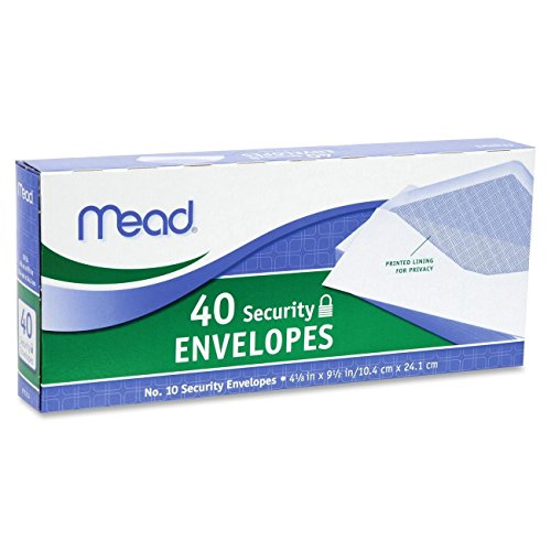 Mead Security Envelopes Count 75214 product image