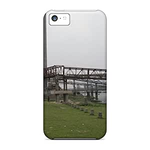 New Cute Funny The River Dock Of The Cement Factory Cases Covers/ Iphone 5c Cases Covers