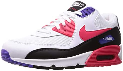 Nike air max 90 essential Blanco rojo Walking |