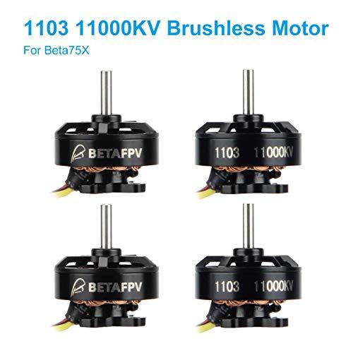BETAFPV 4pcs 1103 Motor 11000KV Brushless Motors FPV RC Brushless for 2S Lipo Battery 2S Frame Beta75X Whoop Drone Only