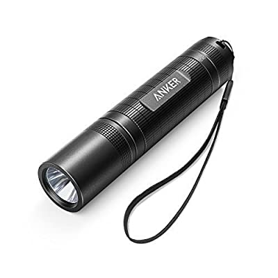 Anker Bolder LC40 LED Flashlight, Pocket-Sized LED Torch, Super Bright 400 Lumens CREE LED, IP65 Water Resistant, 3 Modes High/ Low/ Strobe for Indoors and Outdoors (Camping, Hiking, and Cycling Use) by Anker