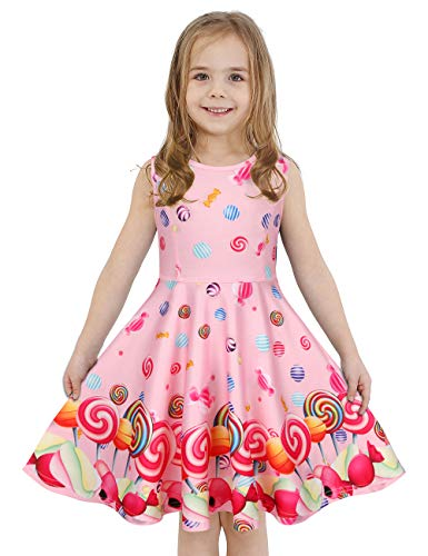 LaBeca Girls Dress Sleeveless