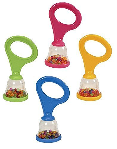 Hohner Kids Mini Shakers with Handle Rattle, 36-Pack by Hohner Kids