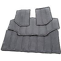 Auto Roof Hardtop Heat Insulation Cotton Kit for Jeep Wrangler 07-16 (Gray)