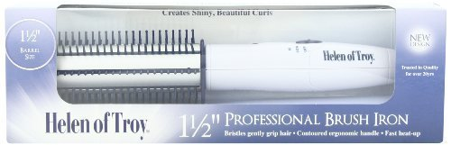Helen of Troy 1514 Brush Iron, White, 1 1/2 Inches Barrel by Helen of Troy HEALTH