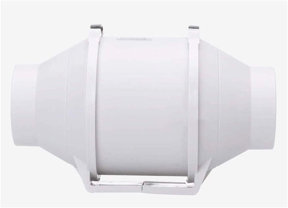 LXZDZ Conducto de ventilación del ventilador, baño Silencio Potente Controlador de temperatura Ventilación Extintor