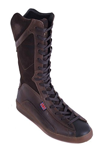 Belstaff Femmes Chaussures Bottes Véritable Cuir Marron Taille 37 #26